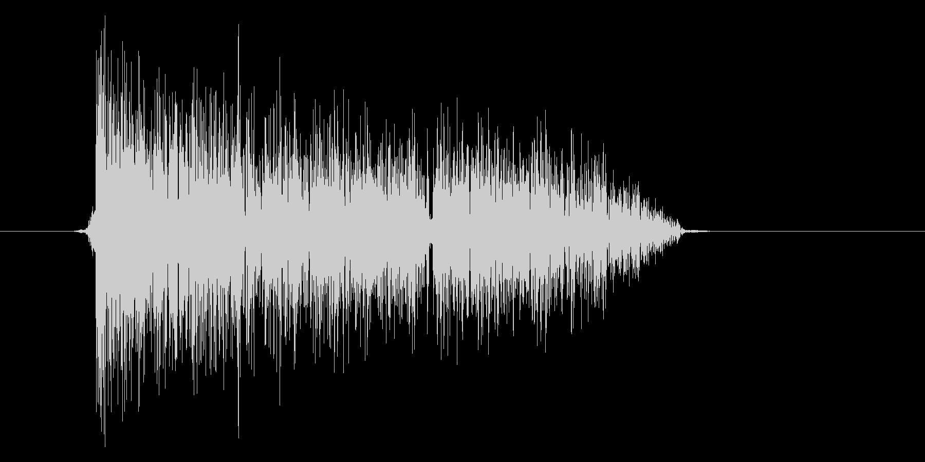 ゲーム(ファミコン風)爆発音_050の未再生の波形