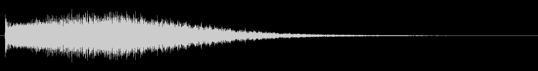 オリジナルの効果音_落下_ピュイーンの未再生の波形