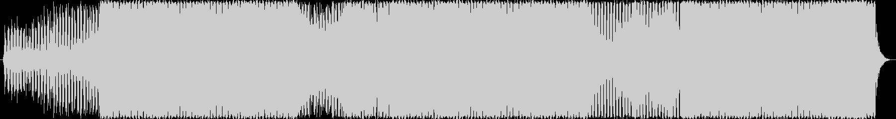 EDM/ダンスミュージック系の4つ打ち曲の未再生の波形