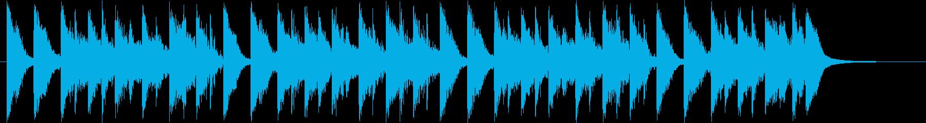 明るく楽しいほのぼのロゴ♪の再生済みの波形