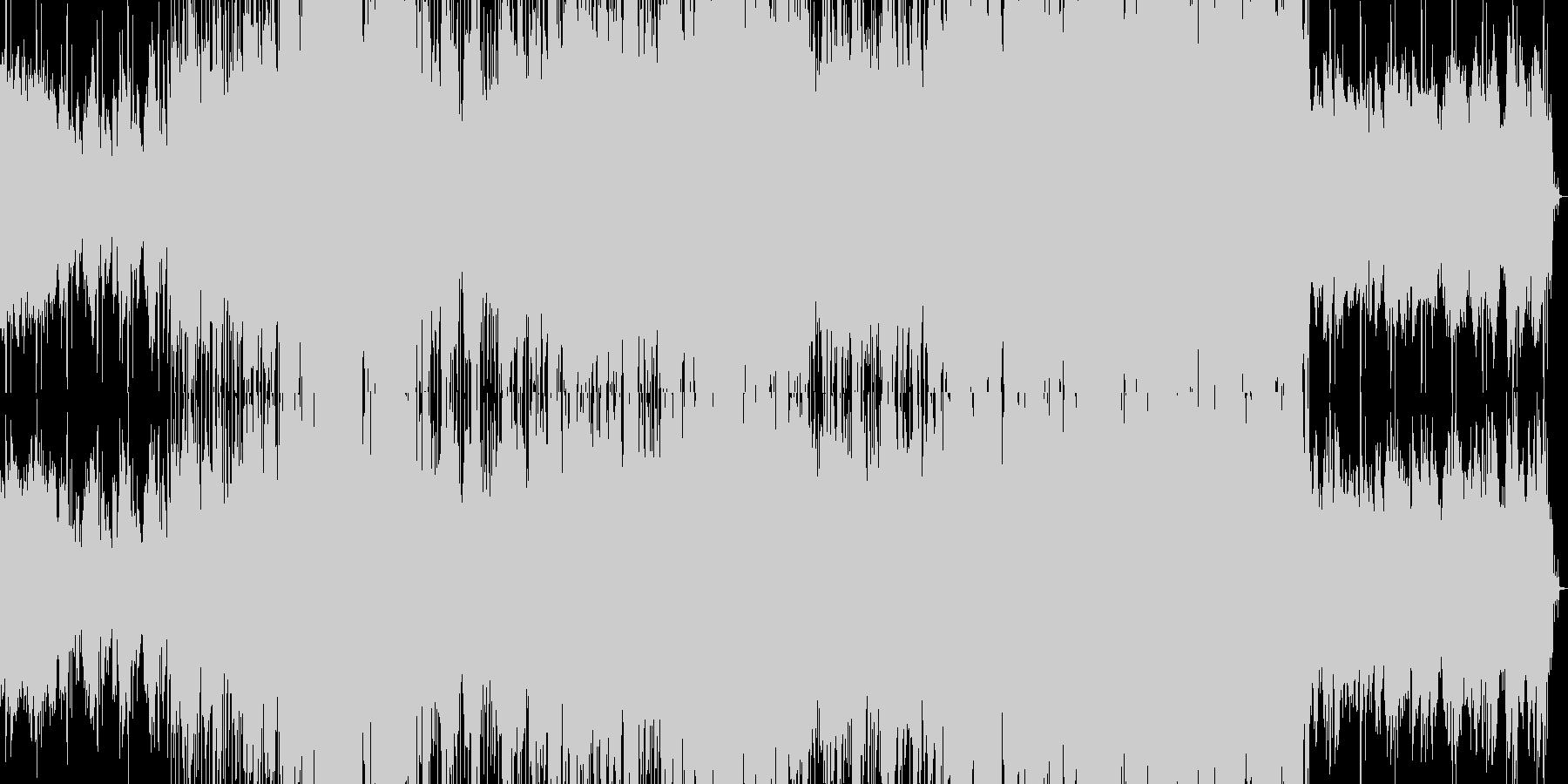FUSION系インストルメンタルバラードの未再生の波形