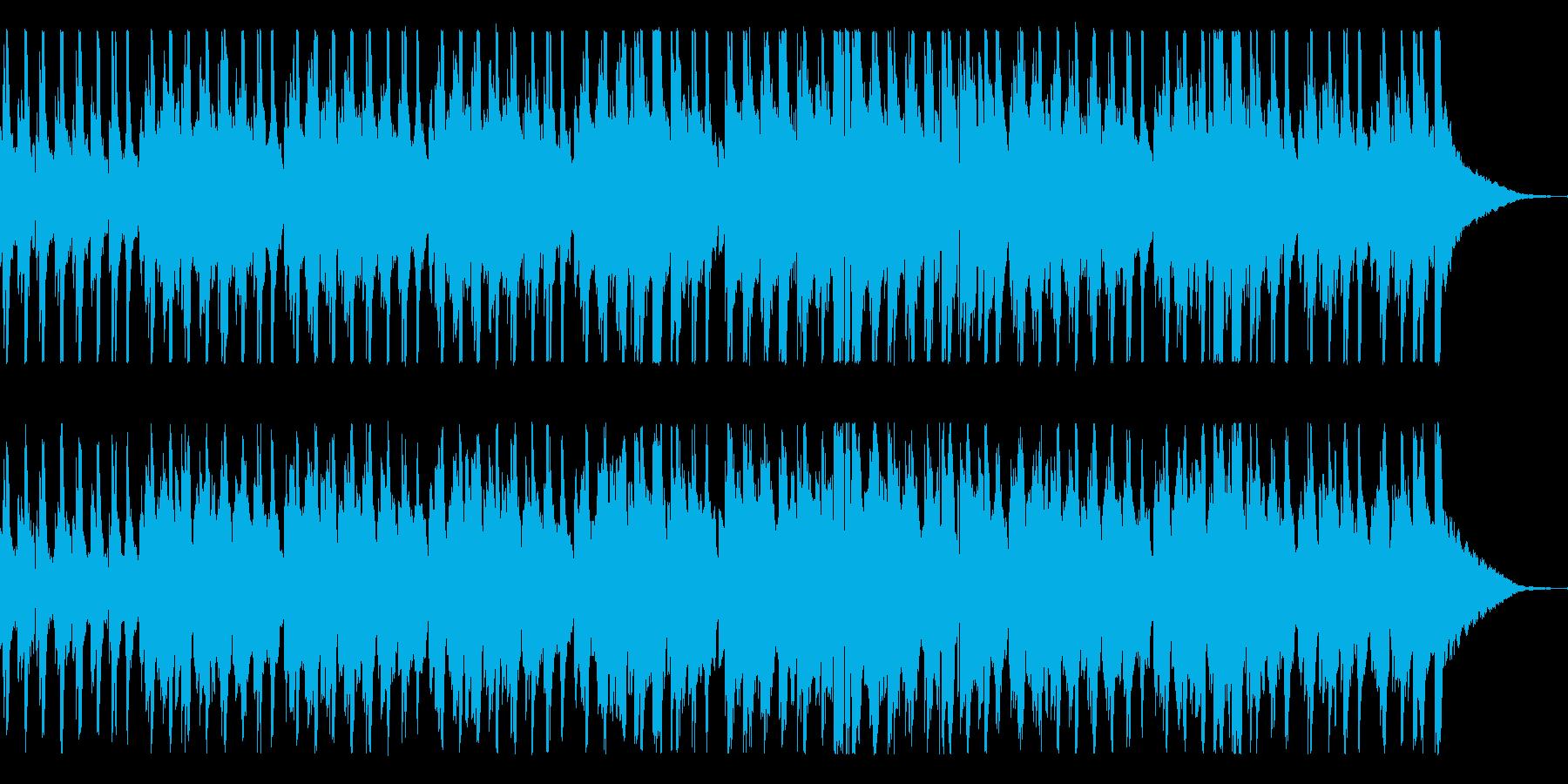 ガットギターの生演奏にバイオリン系音源…の再生済みの波形