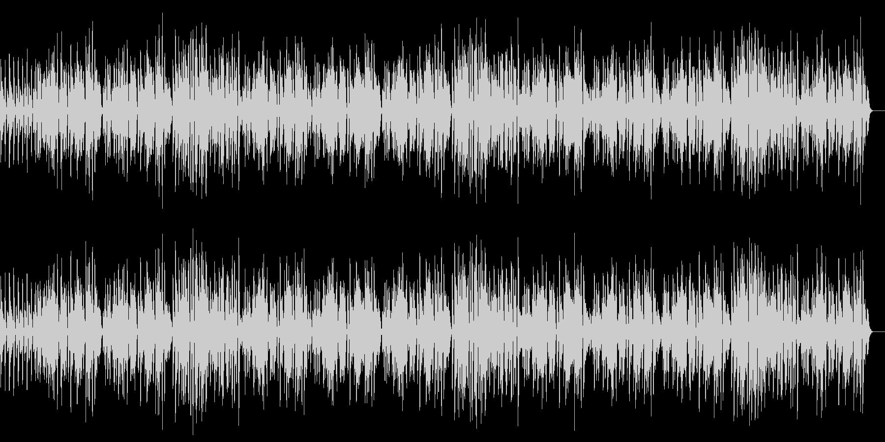 ラグタイム/Honky Tonkの未再生の波形