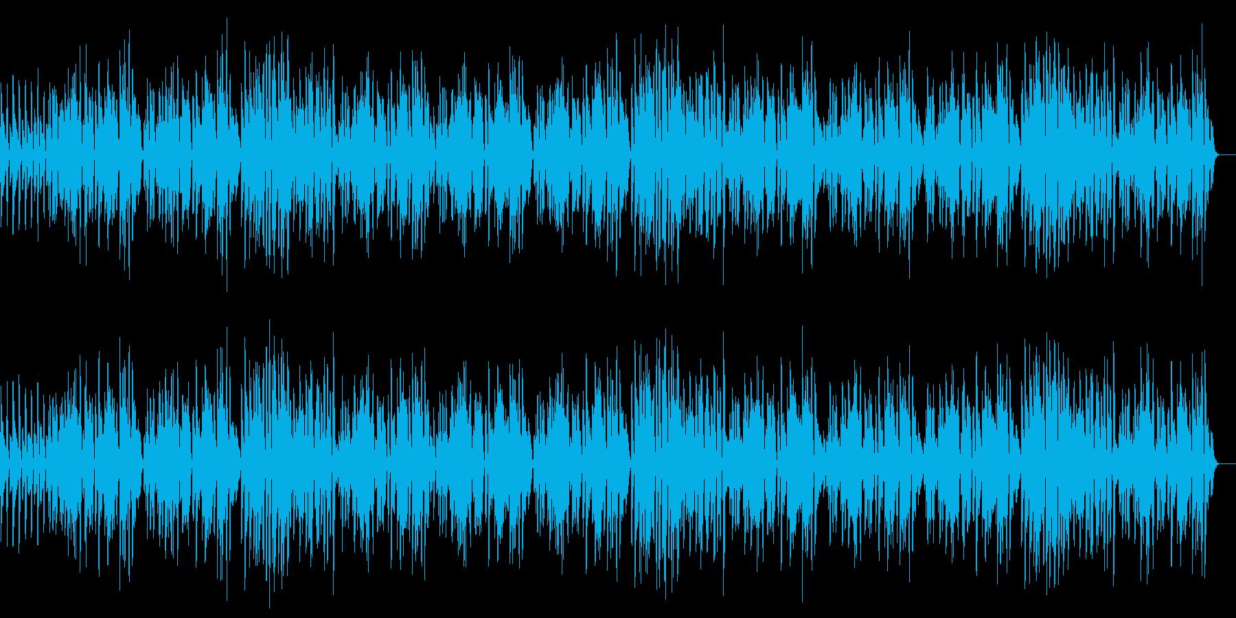 ラグタイム/Honky Tonkの再生済みの波形