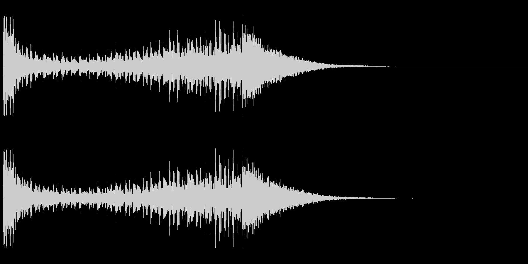 【結果発表01-2】の未再生の波形