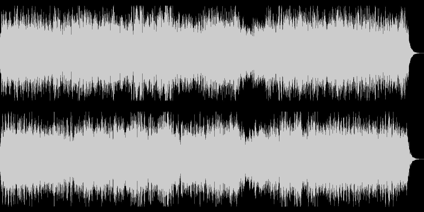 ダークでミステリアスなBGM 奇怪 奇妙の未再生の波形