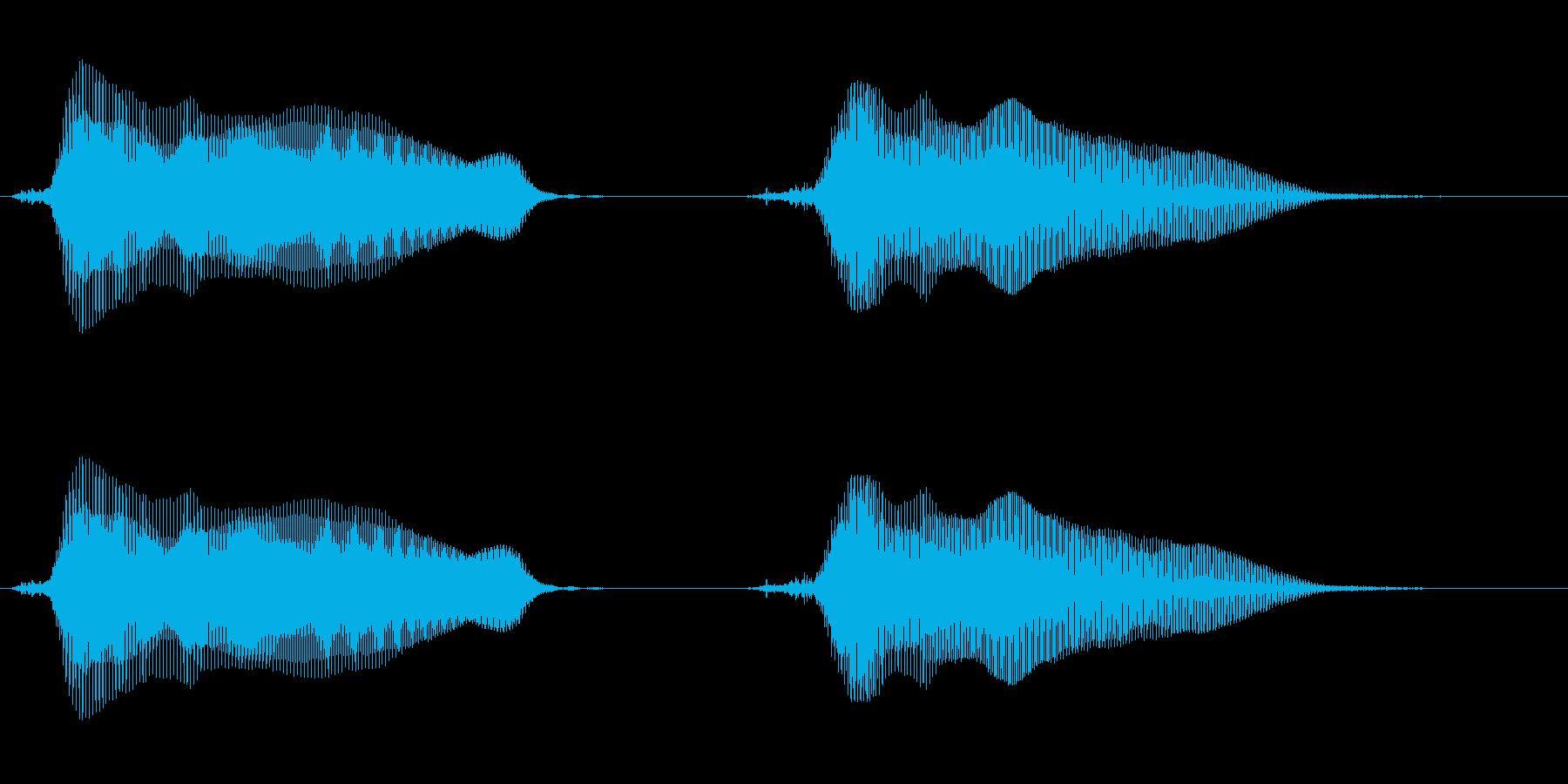 キュン・キュン! の再生済みの波形