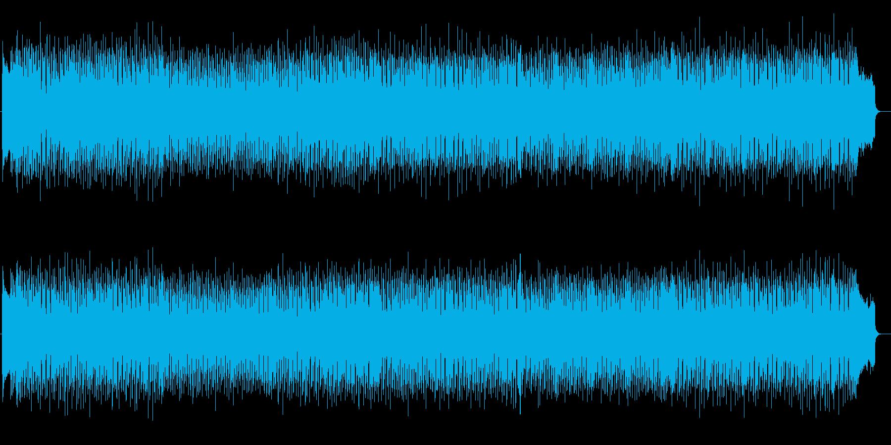 歪んだギターがかっこいいメタルサウンドの再生済みの波形