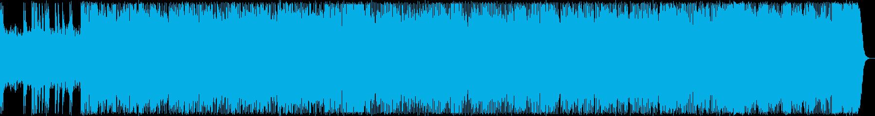 爽快、疾走感あるハードロック・メタルの再生済みの波形