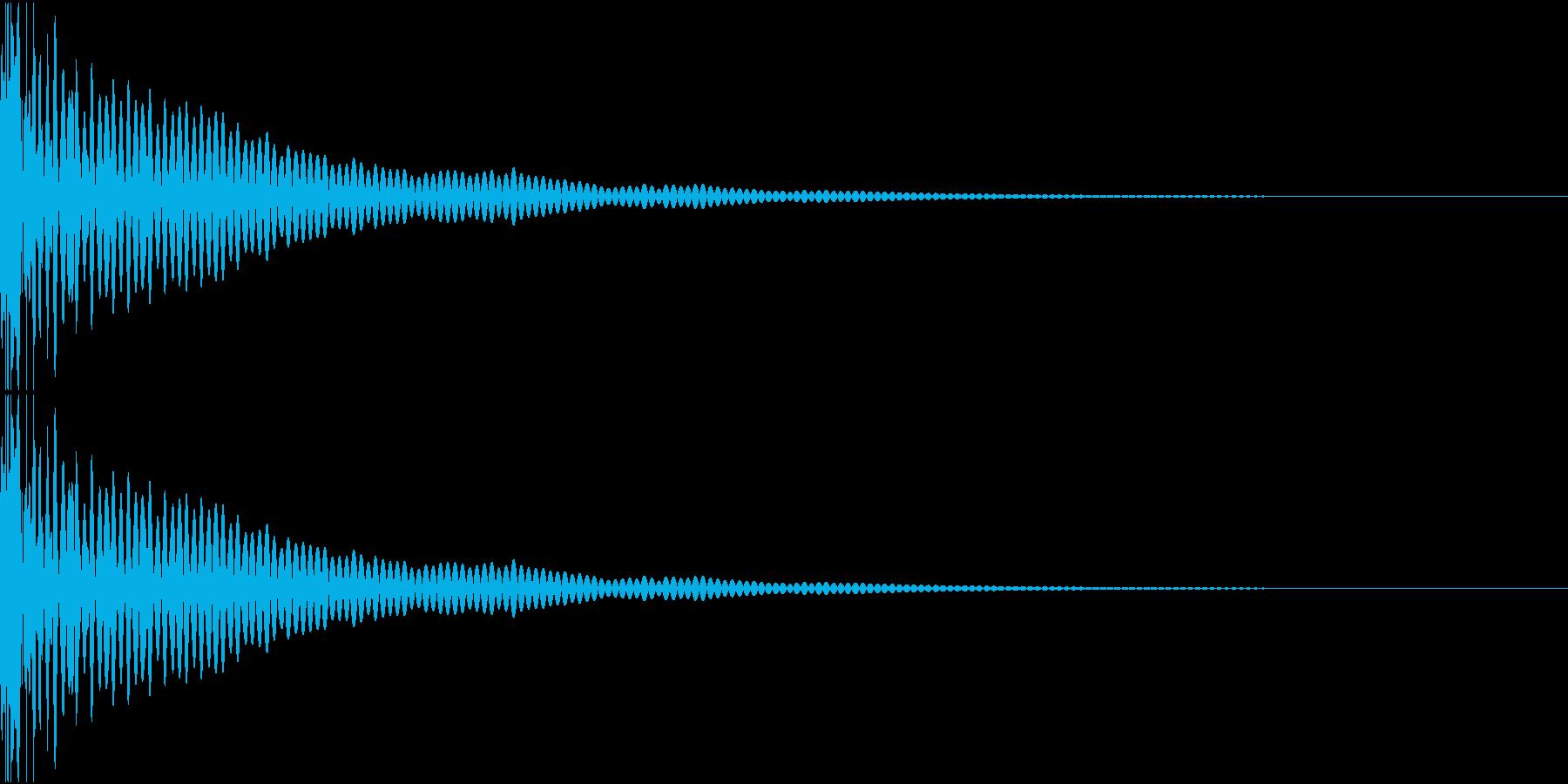 DTM Tom 25 オリジナル音源の再生済みの波形