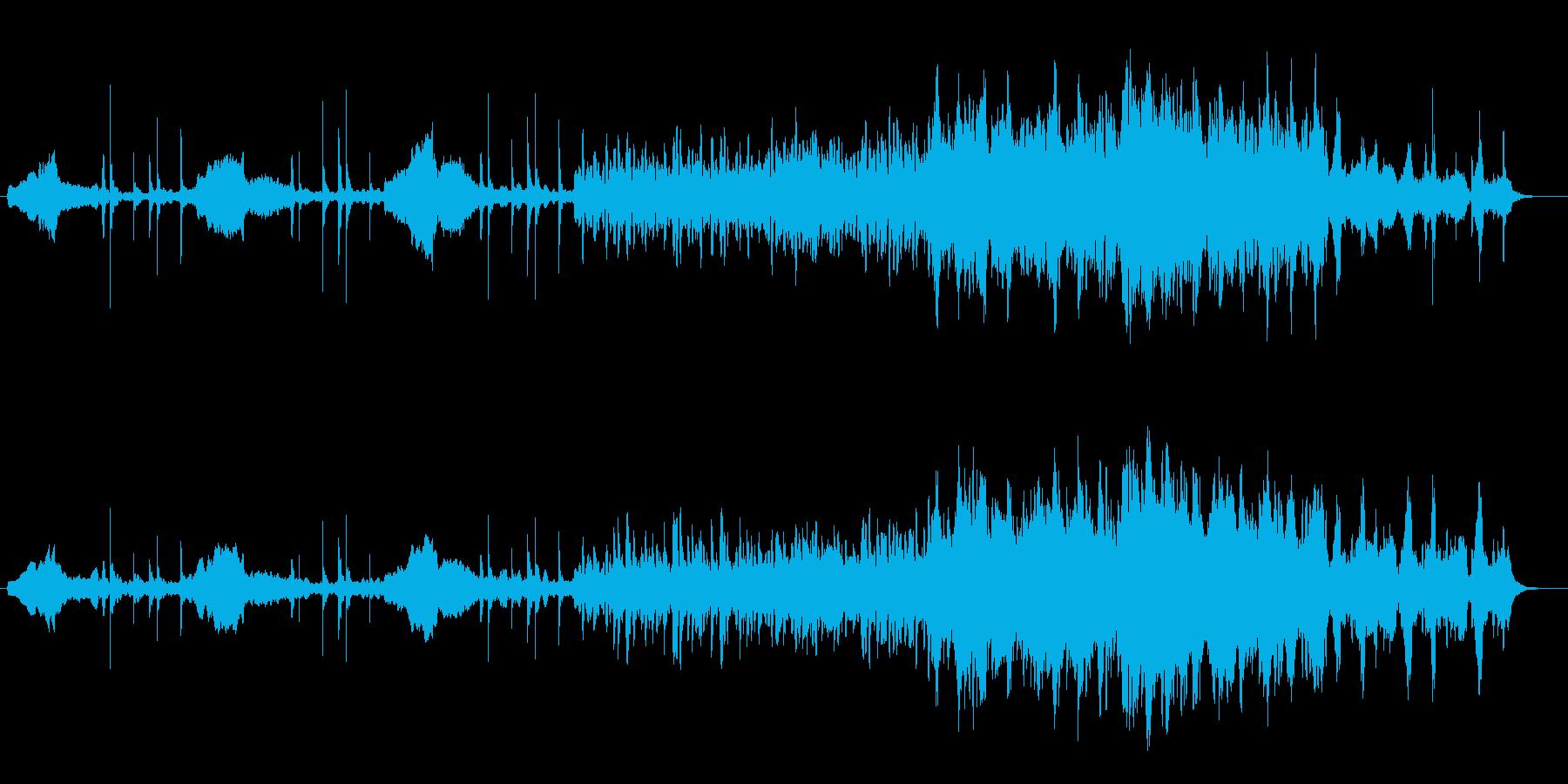 自然と調和するヴァイオリン生演奏の再生済みの波形
