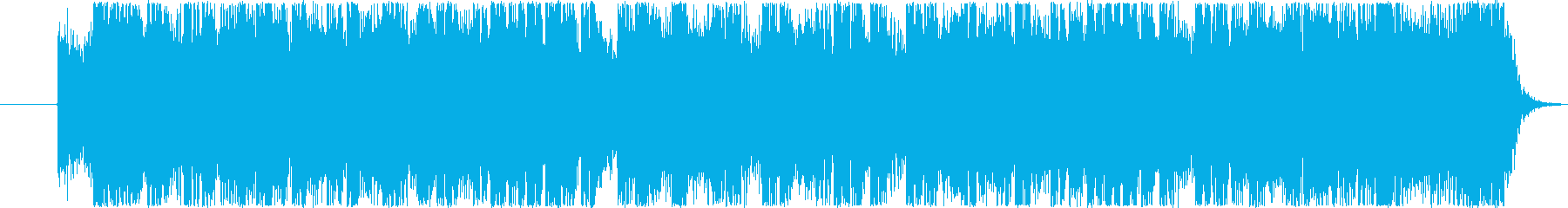 アニメ、アイドル系!ハッピーなジングルの再生済みの波形