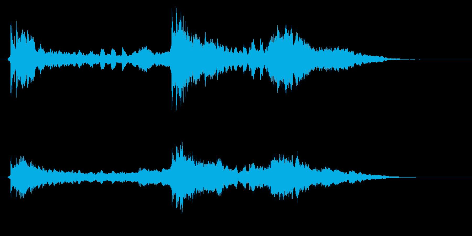 怪談用の三味線SEです。の再生済みの波形