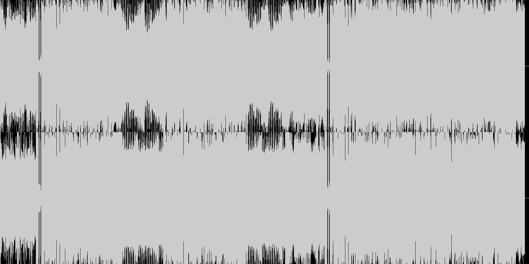 ファミコン3拍子洋館ダンジョンの未再生の波形