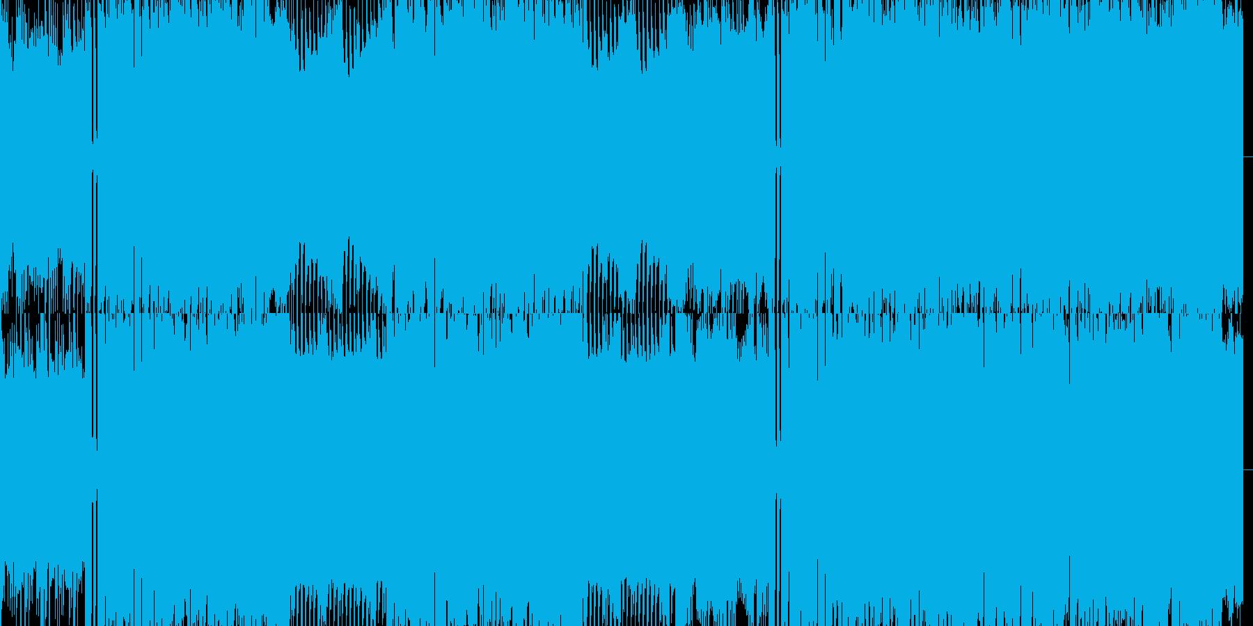 ファミコン3拍子洋館ダンジョンの再生済みの波形