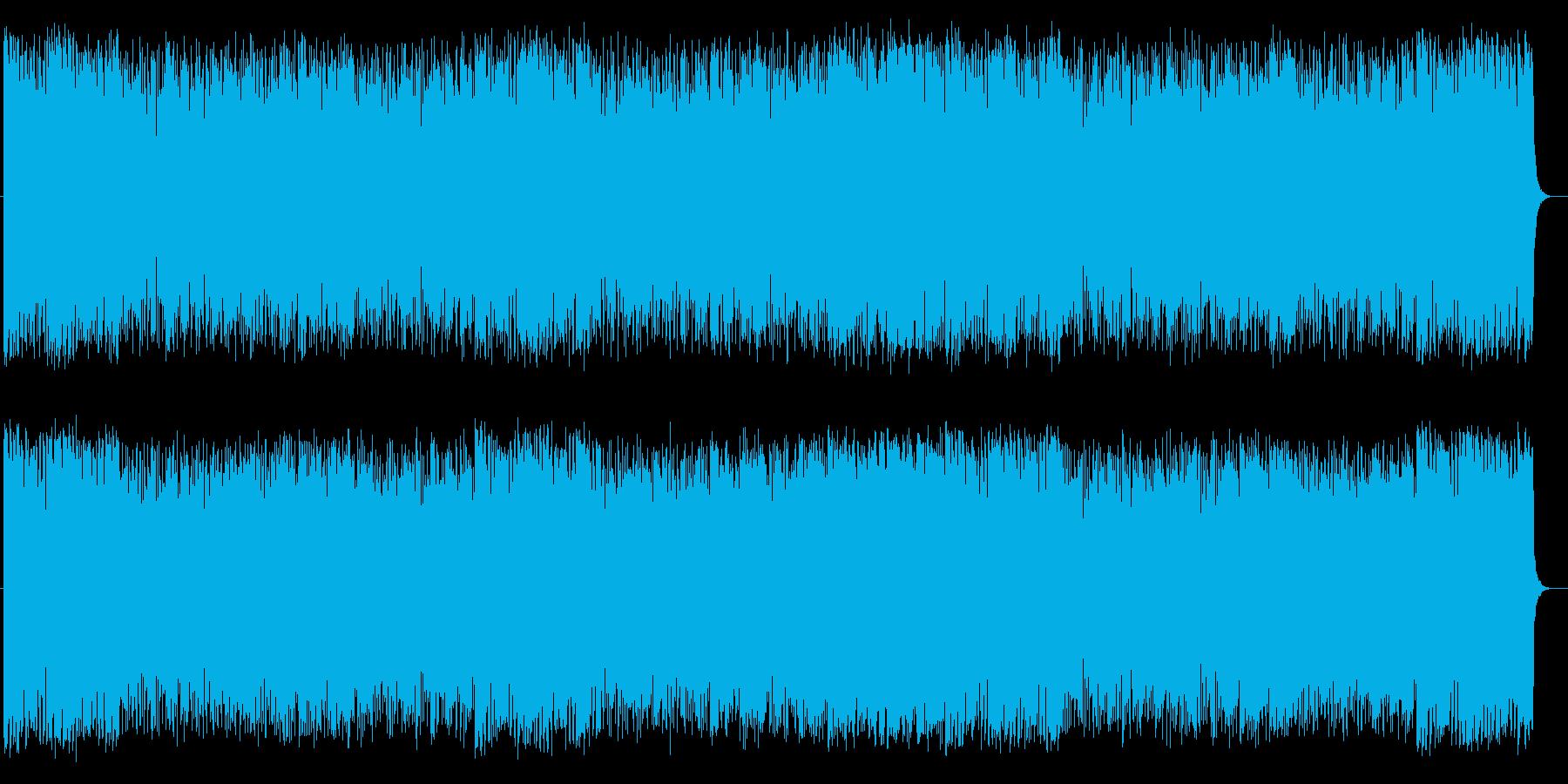 爽快な印象のピアノポップスの再生済みの波形