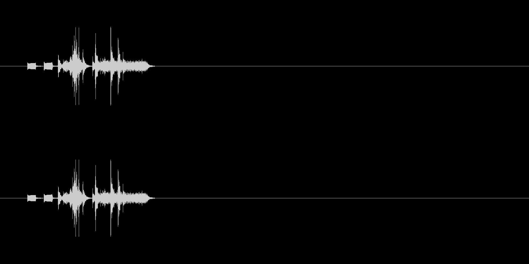 【カメラ シャッター01-6】の未再生の波形