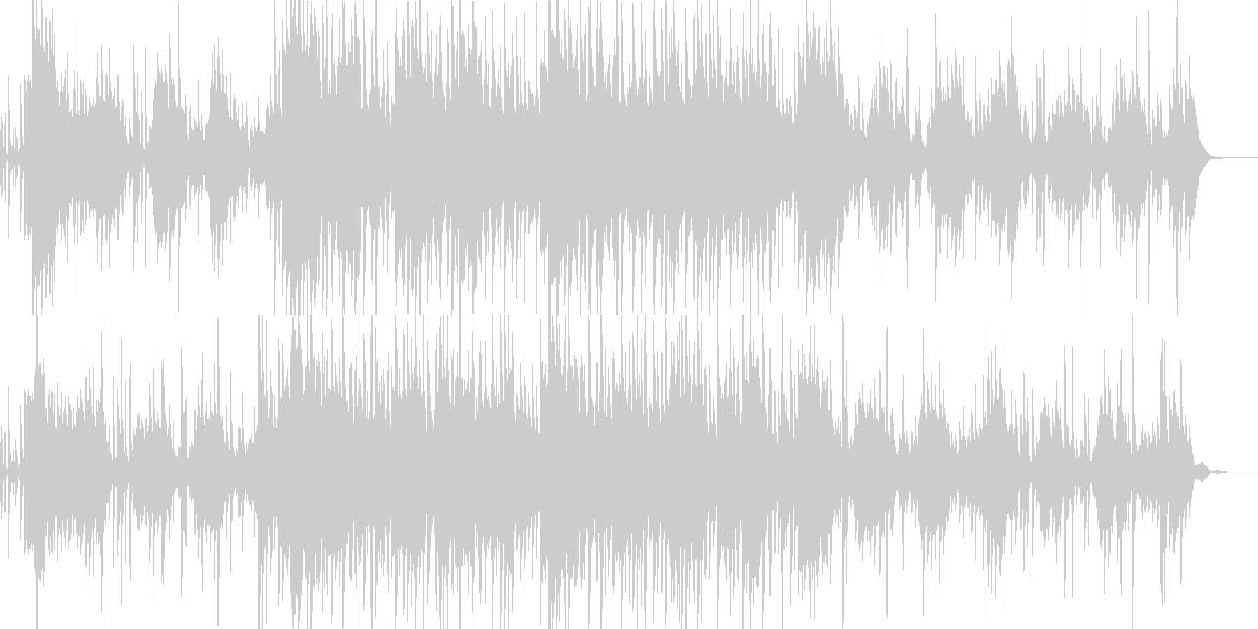 オルゴールの音とシンセの音を併せて不気…の未再生の波形
