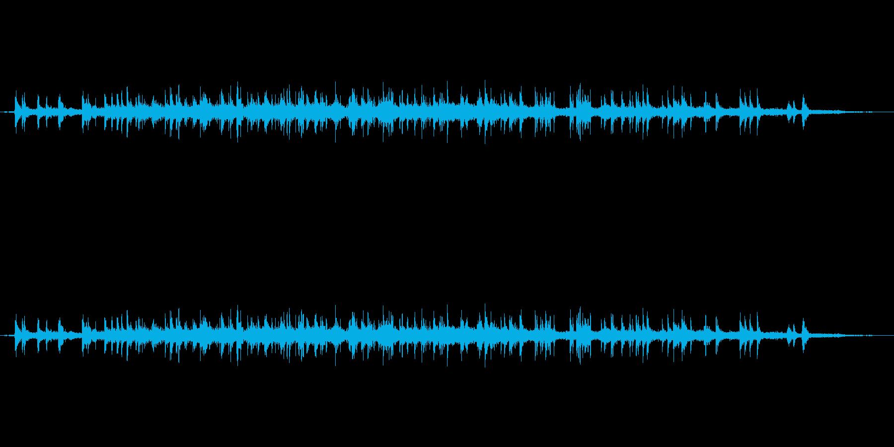 15人の拍手の再生済みの波形