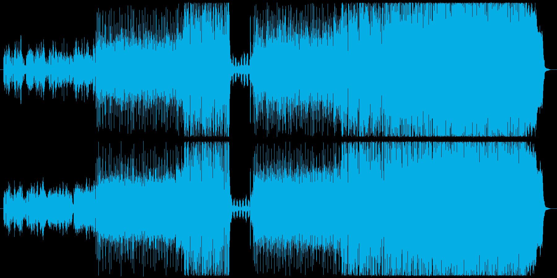 早く会いたい気持ちを後押しするBGMの再生済みの波形