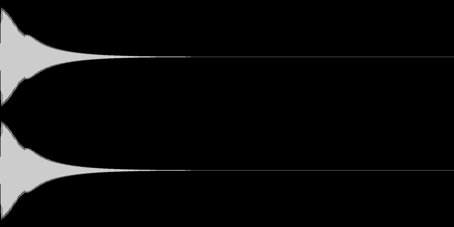 トゥンの未再生の波形