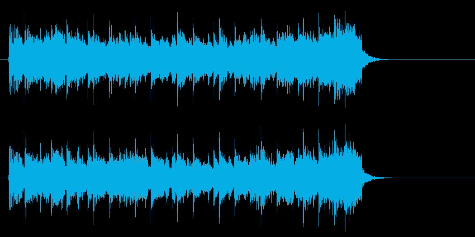 安らぎのミディアムポップ(イントロ)の再生済みの波形