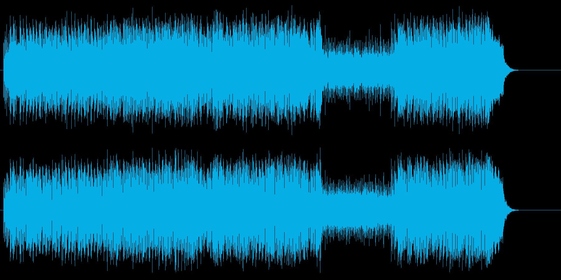 タイトでキャッチーなロック・サウンドの再生済みの波形