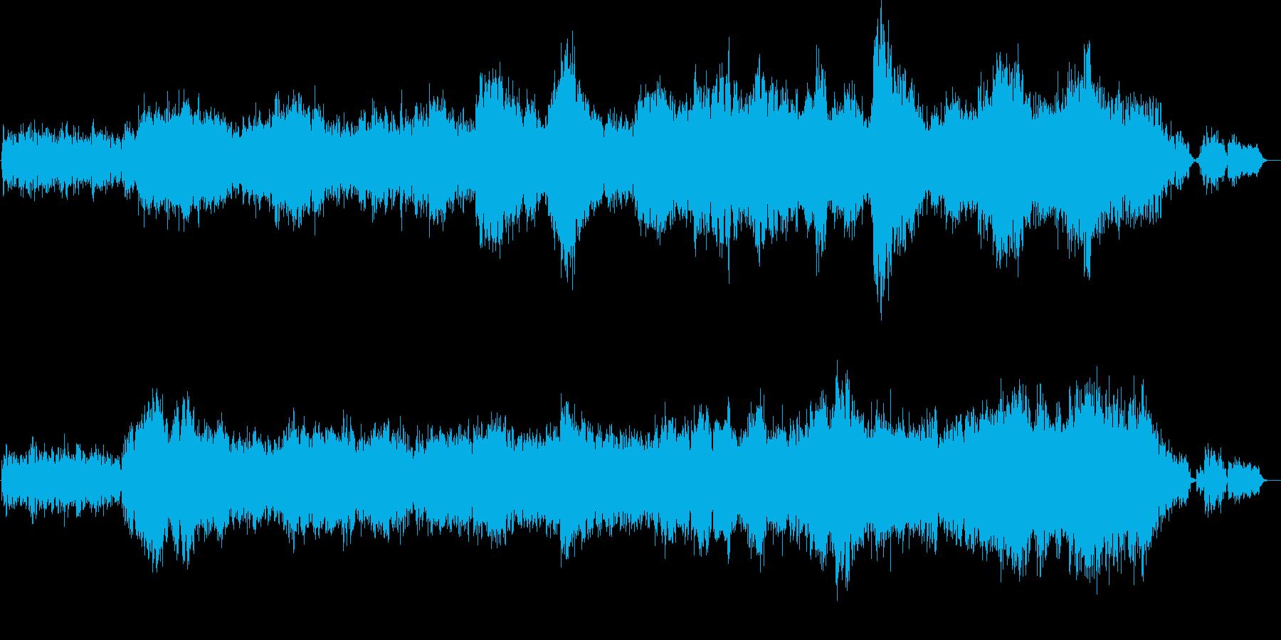 コーラスとエレピ。幻想的なアンビエントの再生済みの波形