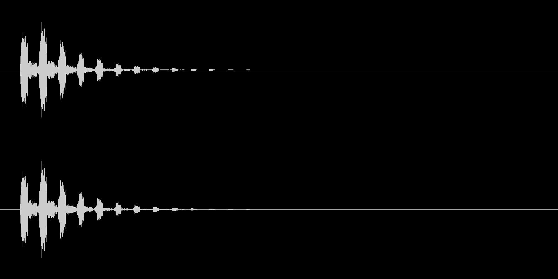 【びっくり04-2】の未再生の波形