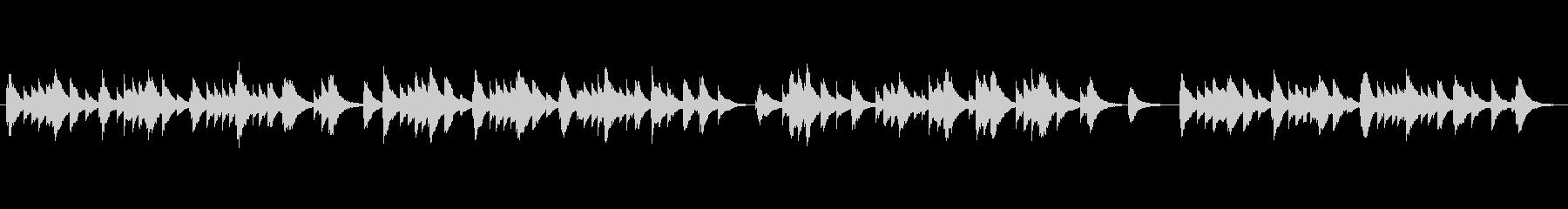 オルゴール2の未再生の波形