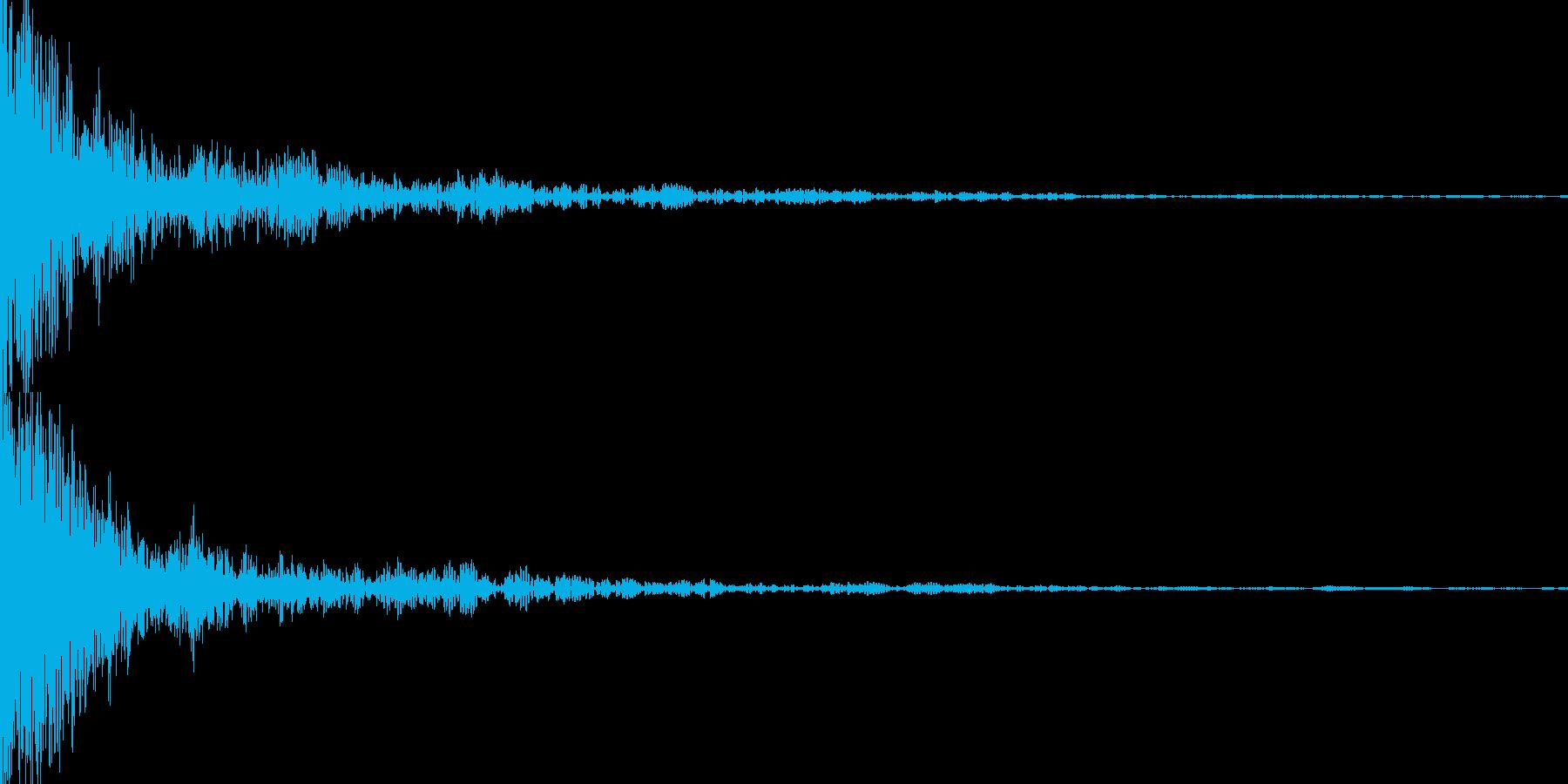 ギーン(インパクト)の再生済みの波形