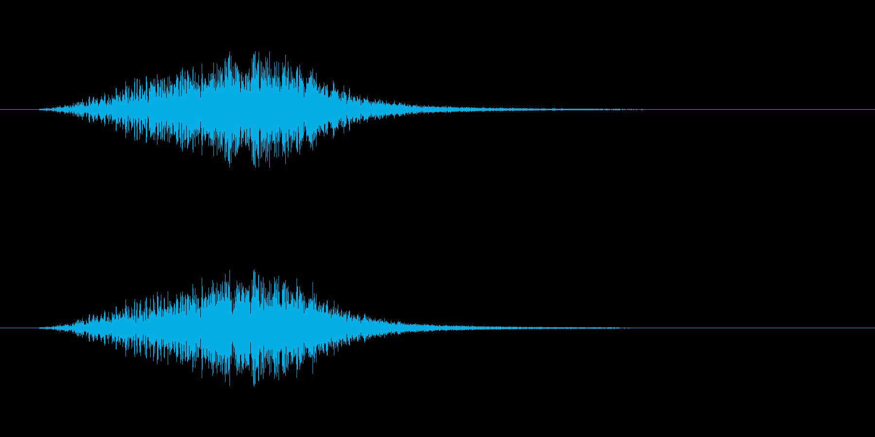【ショートブリッジ16-1】の再生済みの波形