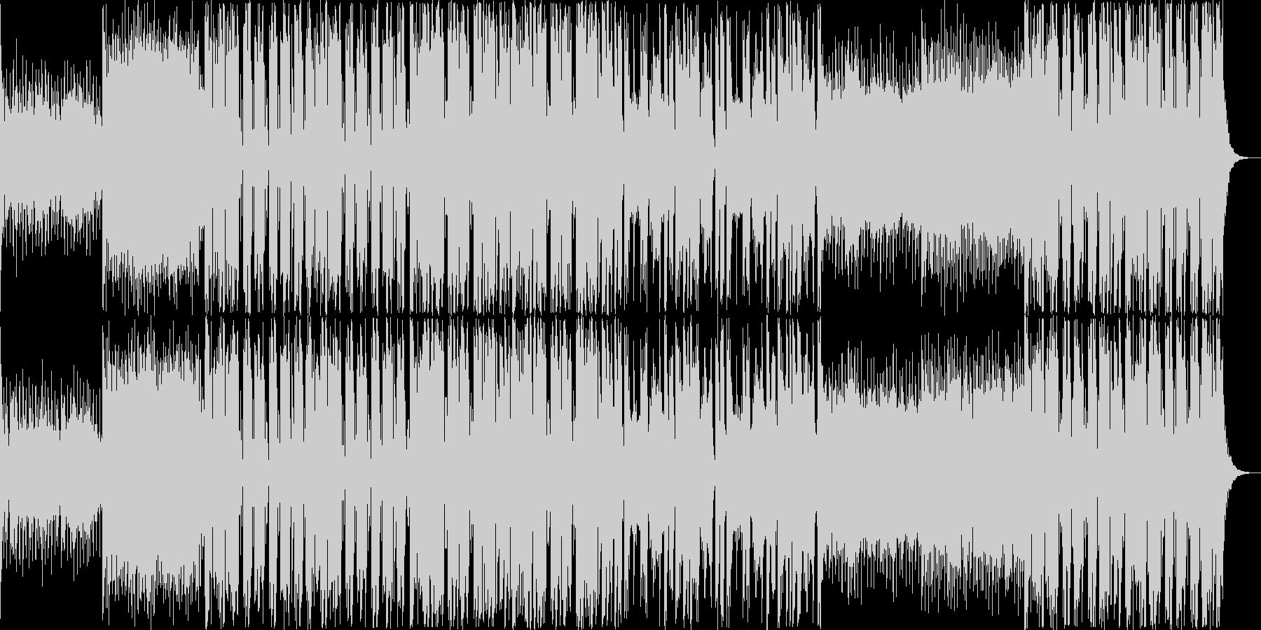おしゃれなフューチャーベース EDMの未再生の波形