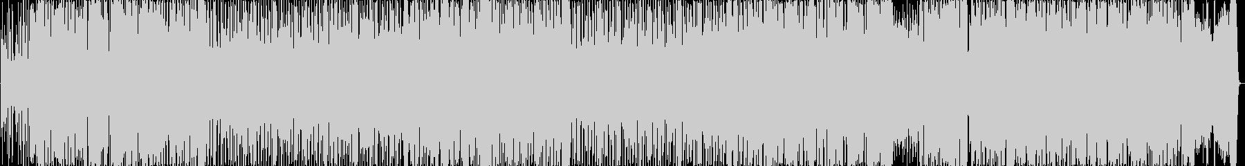 ジャニーズ系ポップ風のノリノリのBGMの未再生の波形