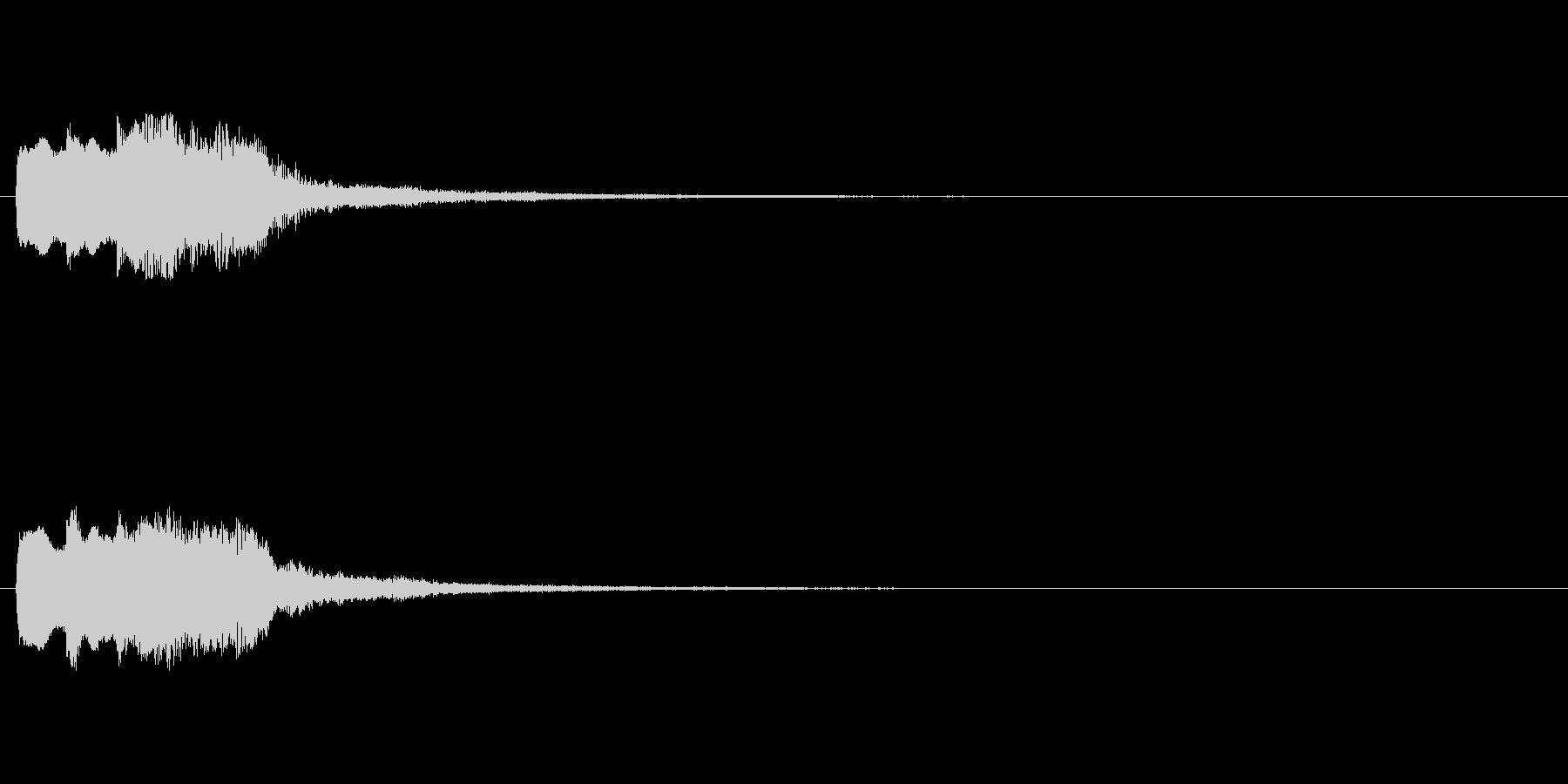 【チャイム 注意02-up】の未再生の波形
