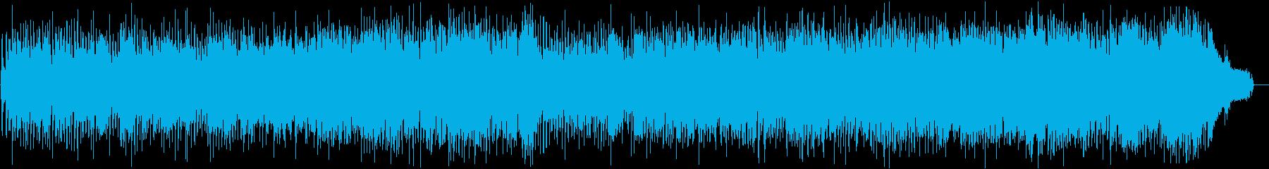可愛らしいファンタジーポップスの再生済みの波形