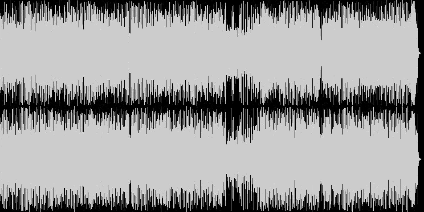 アクションRPGの草原BGMの未再生の波形