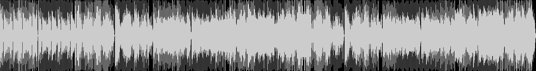 日常をイメージしたほのぼのテクノポップの未再生の波形