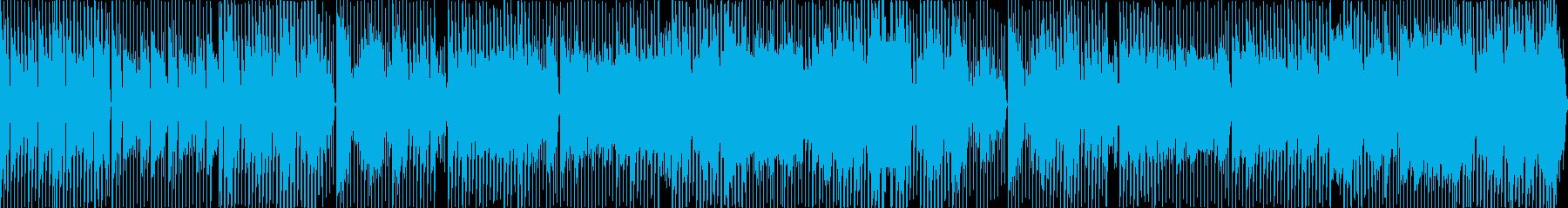 日常をイメージしたほのぼのテクノポップの再生済みの波形