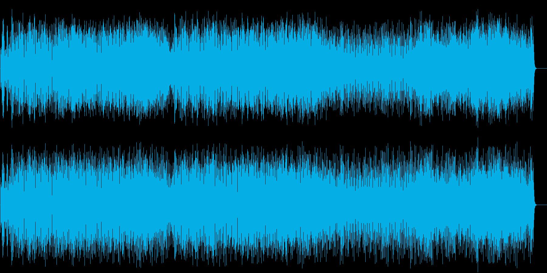 ファンク 軽快 躍動 都会 挑戦の再生済みの波形