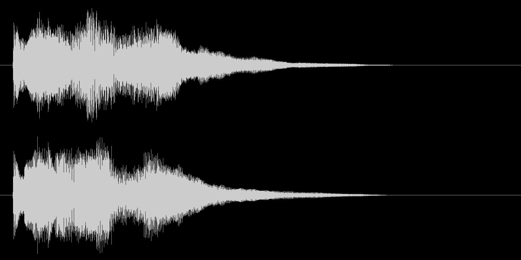 シタールを使った音源です の未再生の波形
