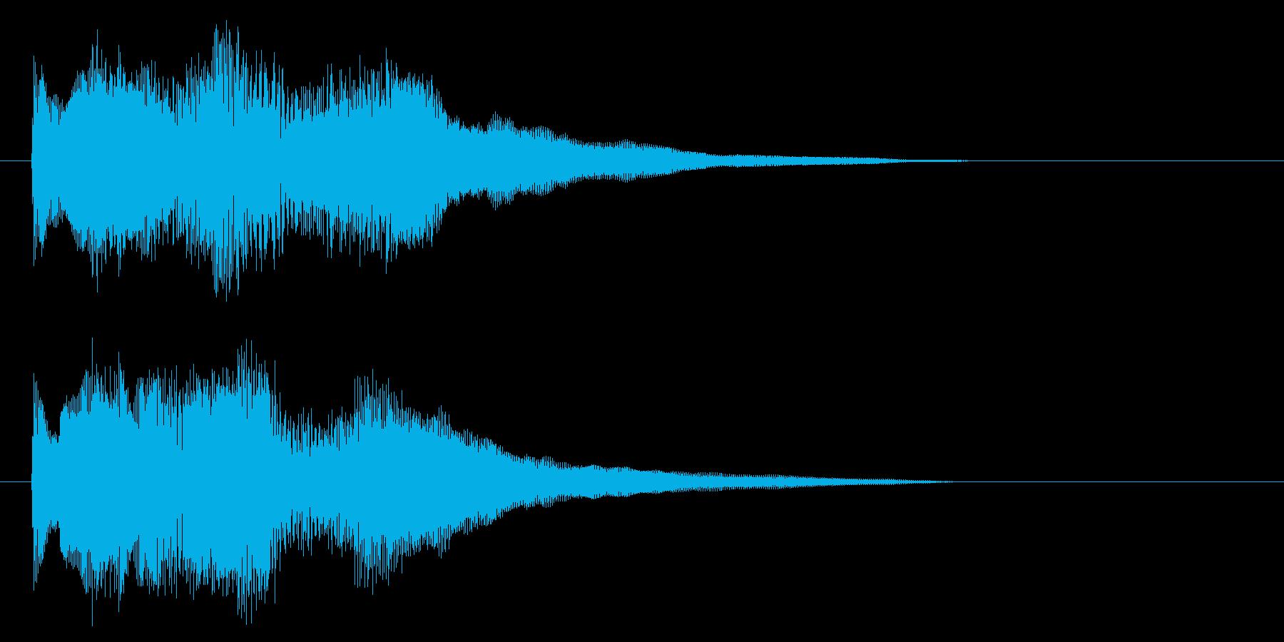 シタールを使った音源です の再生済みの波形