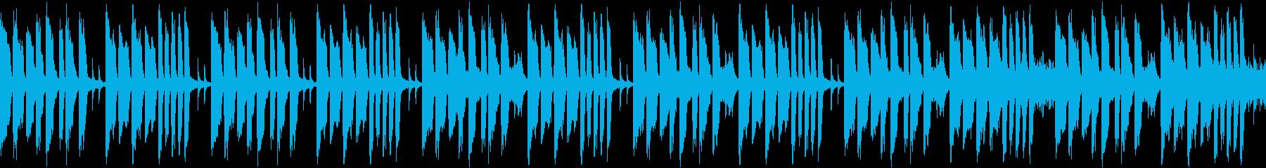 さぁ行こうという時にいい曲(ループ仕様)の再生済みの波形