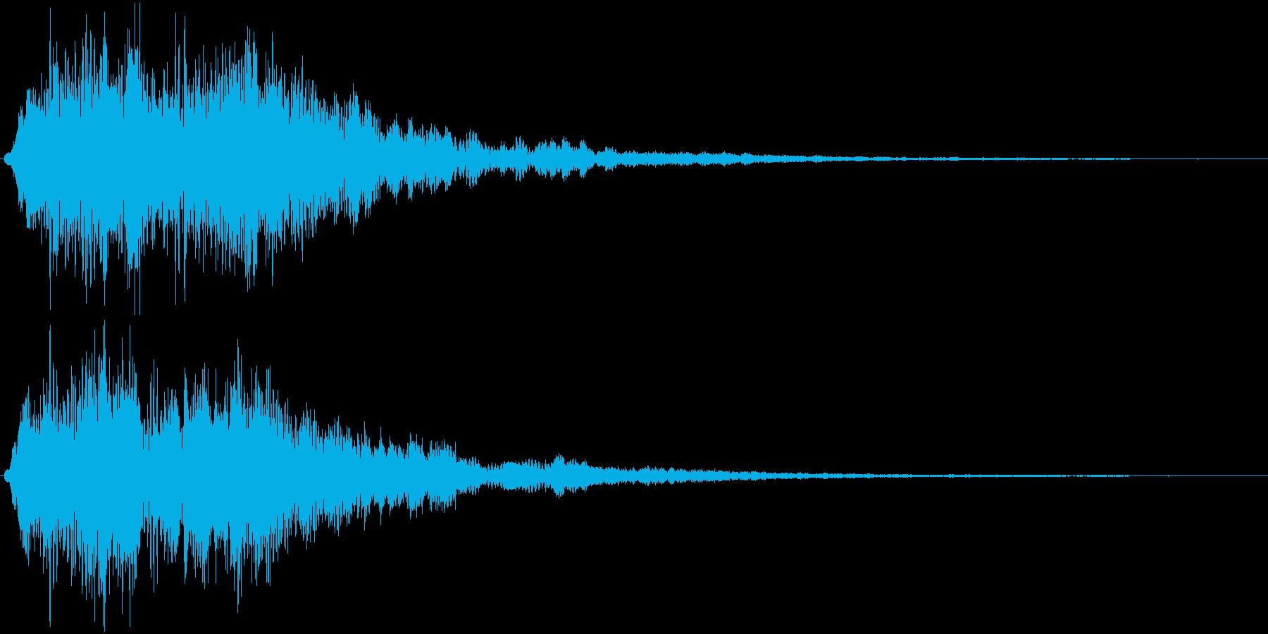 ワンワンワワワーン(サウンドロゴ)の再生済みの波形