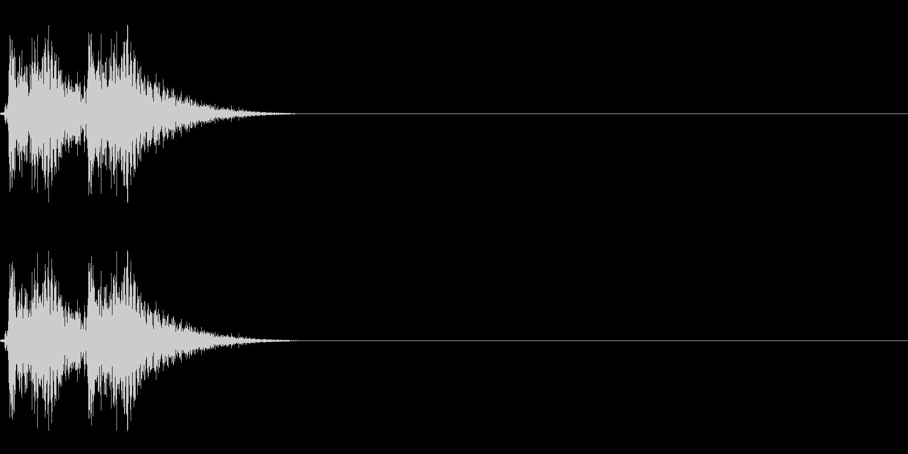 【打撃05-2】の未再生の波形