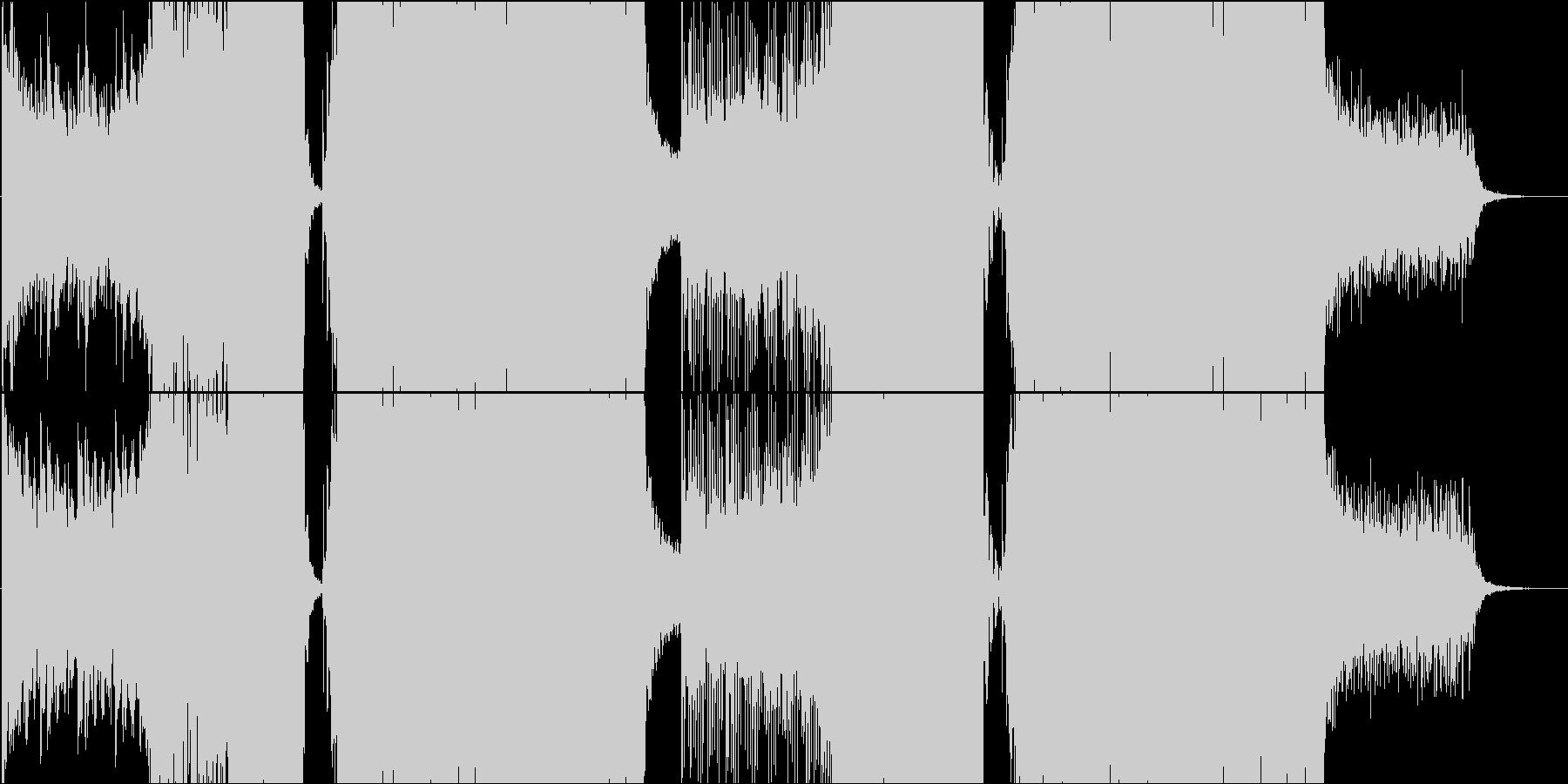 電脳ノスタルジー / EDM・ゲームの未再生の波形