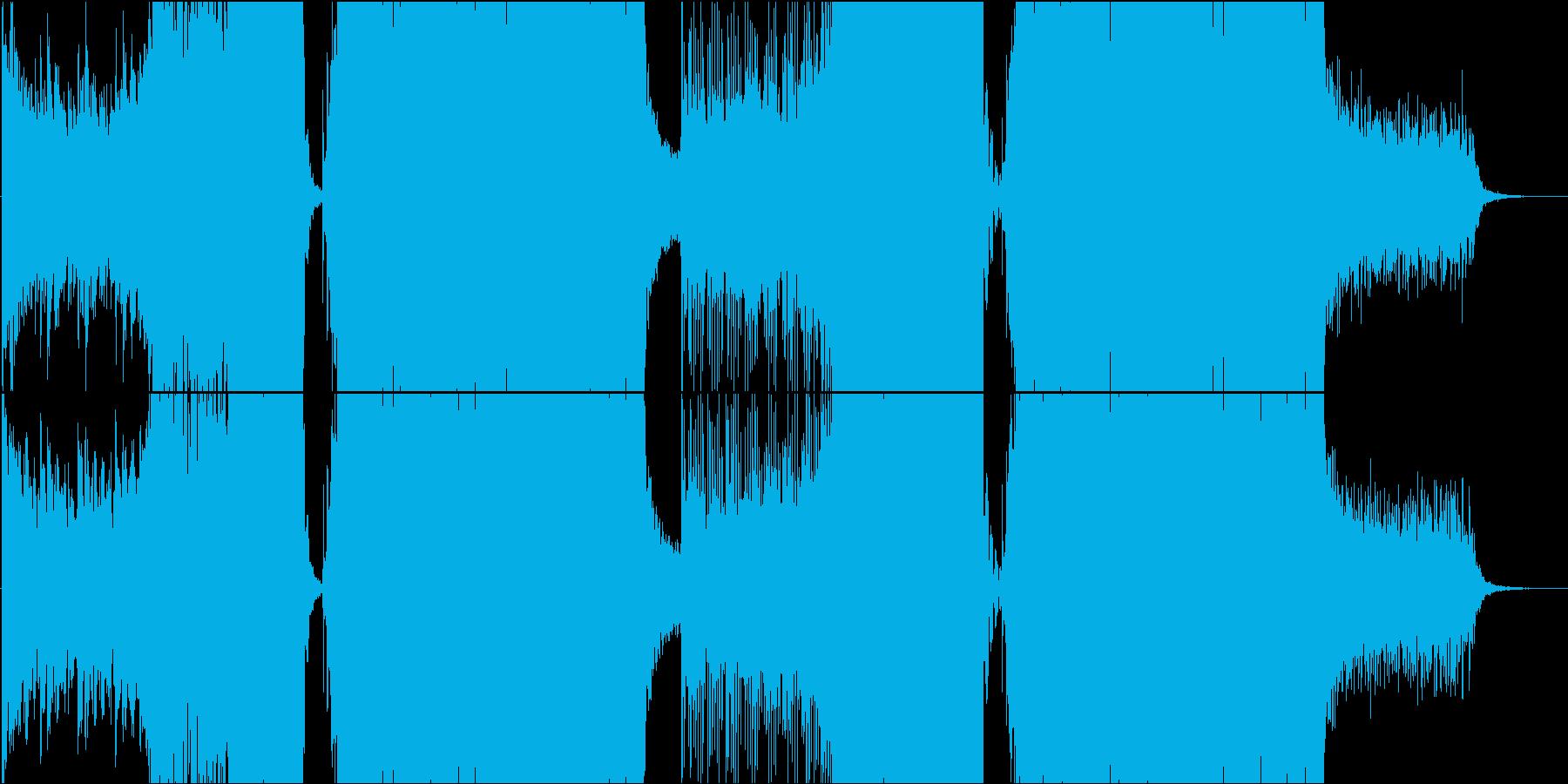 電脳ノスタルジー / EDM・ゲームの再生済みの波形