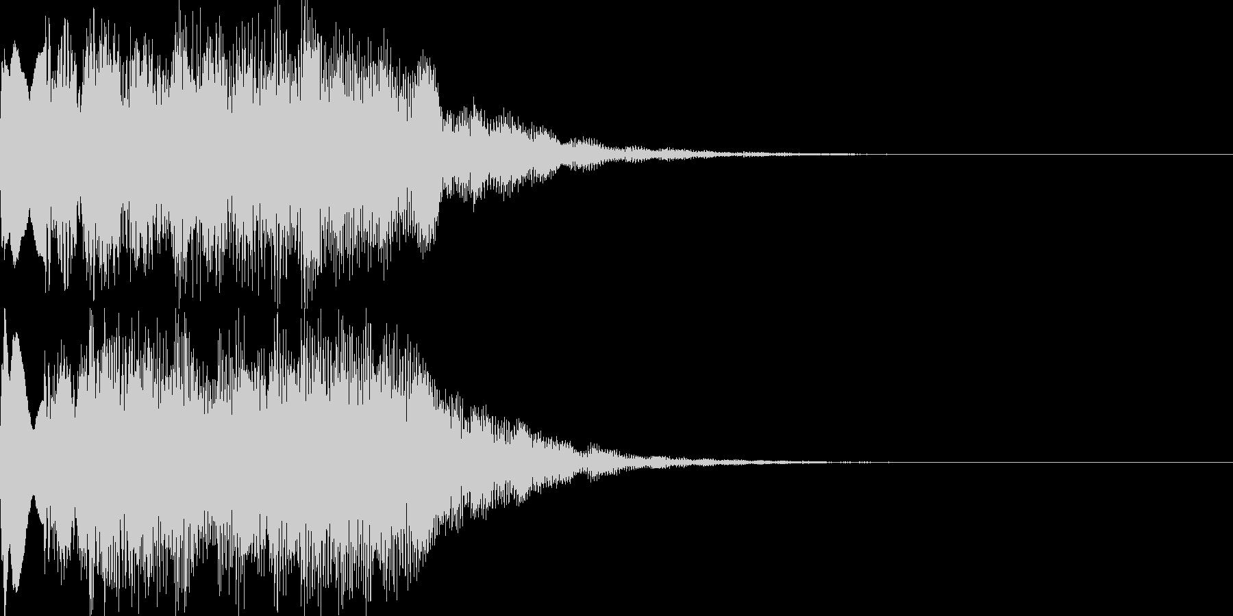 扉開く音のパロディ01の未再生の波形