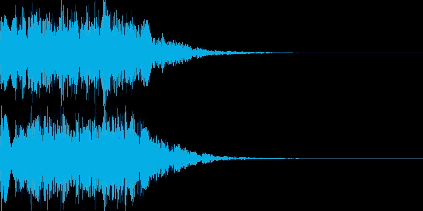 扉開く音のパロディ01の再生済みの波形
