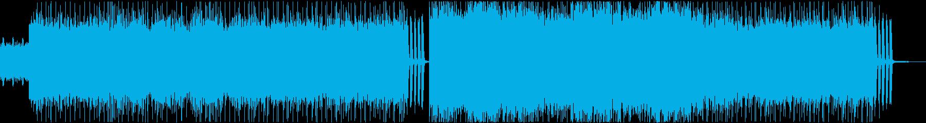 爆走ロック・メタル系BGM No.1の再生済みの波形